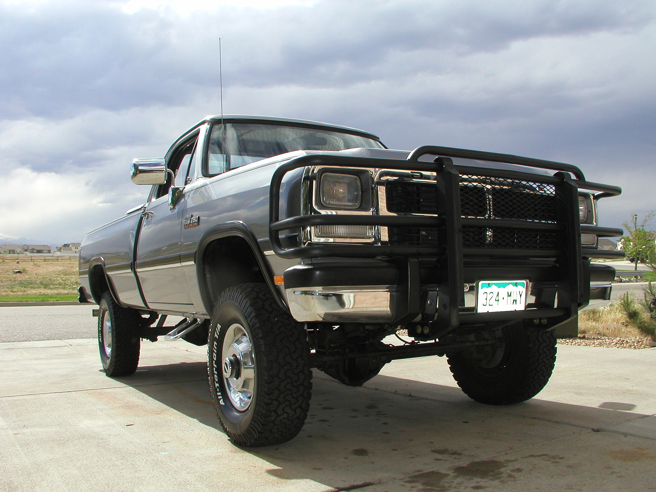 Post Pics of your bumper/brushguard - Page 2 - Dodge ...